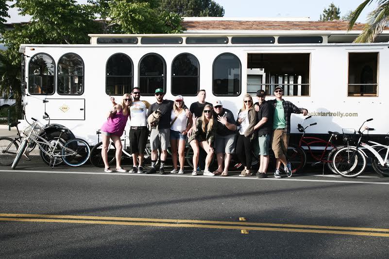 Trolley Booze Cruise in Santa Barbara